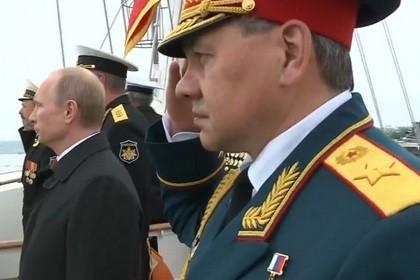 Путин в Севастополе 2014