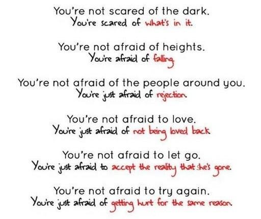 Правда о страхе