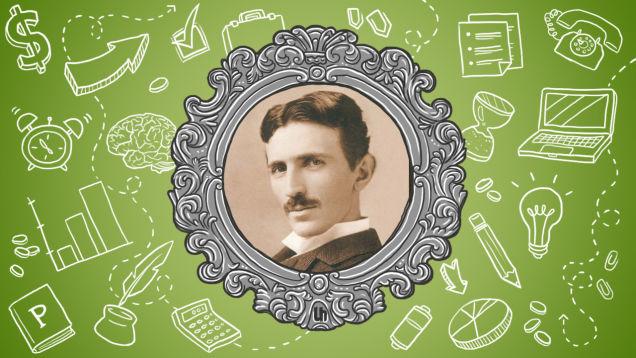 Никола Тесла: 3 совета для тех, кто хочет работать продуктивнее