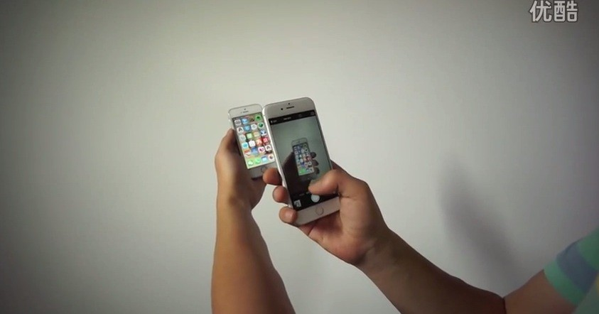 Работающий iPhone 6 на видео