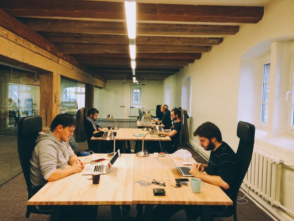 В офисе Meduza