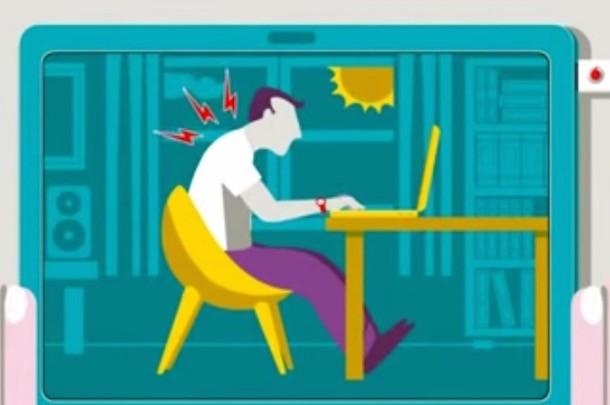 Как сидеть за компьютером правильно