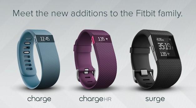 Фитнес-трекеры Fitbit, линейка 2014-2015 года
