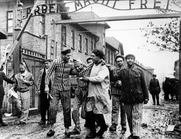 Освобождение узников концлагеря