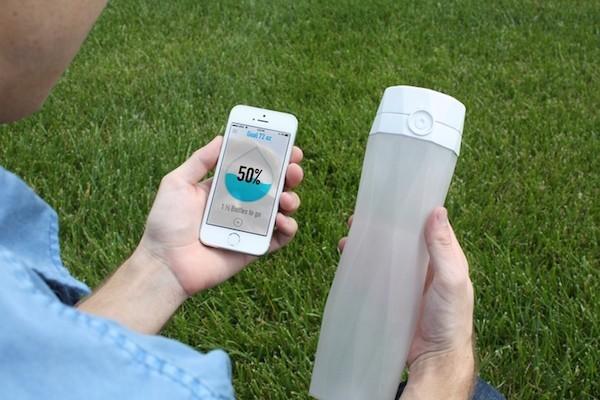 Умная бутылка HidrateMe-6
