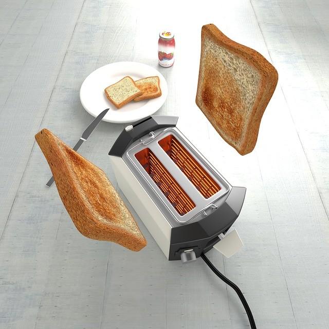 Здоровый завтрак - тост