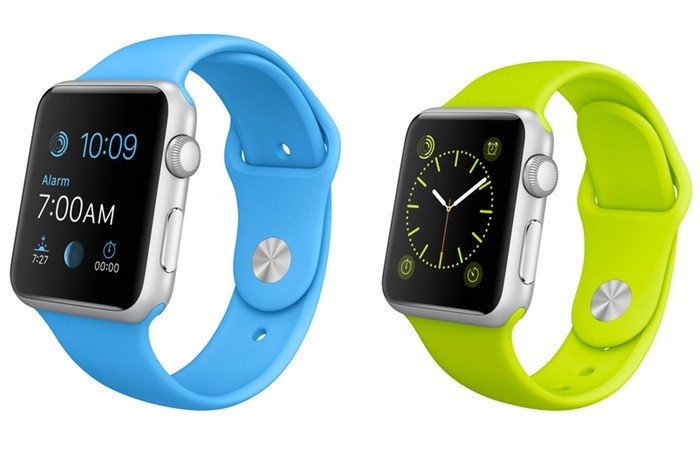 Apple Watch Sport новые ремешки