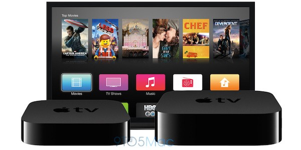 Apple TV 4 - справа