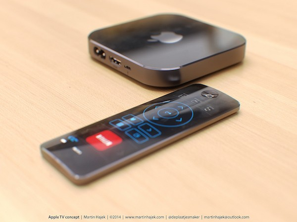Apple TV 4 (концепт М.Хайека)