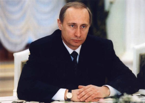 Владимир Путин в 1999 году