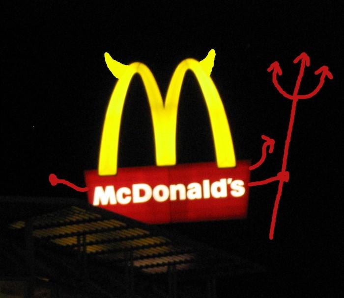 mcdonalds-is-evil-polezner