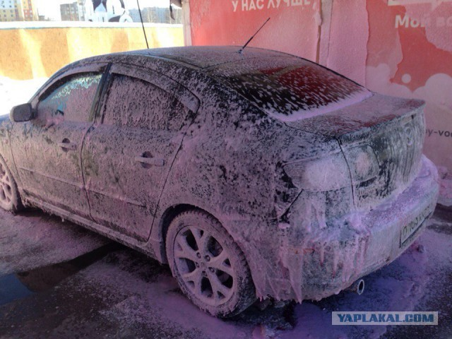 почему не стоит мыть машину в мороз