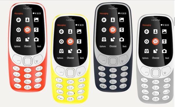 Телефон Nokia 3310 2017 года фото