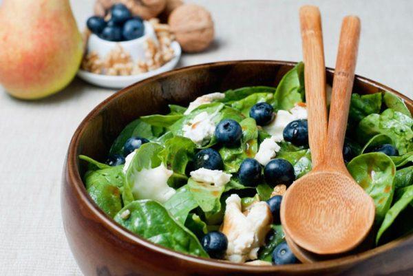 листовой салат помогает от стресса