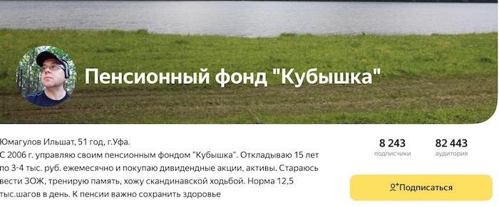 """ильшат юмагулов, пенсионный фонд """"кубышка"""""""